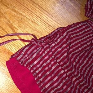 American Eagle Outfitters Other - American Eagle maroon matching two piece set